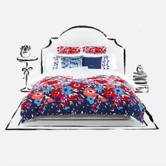 Bed Sheet, Cushion & Pillow Cover